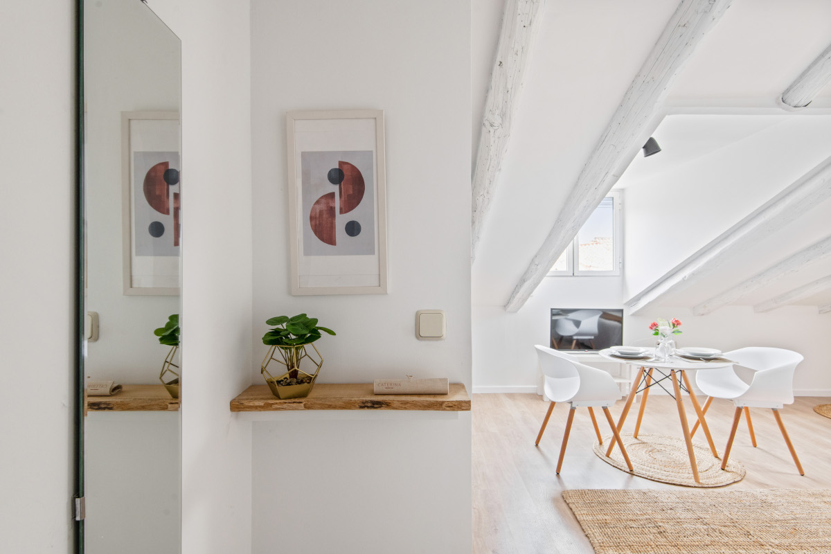 apartamentos corporativos decoración de sala
