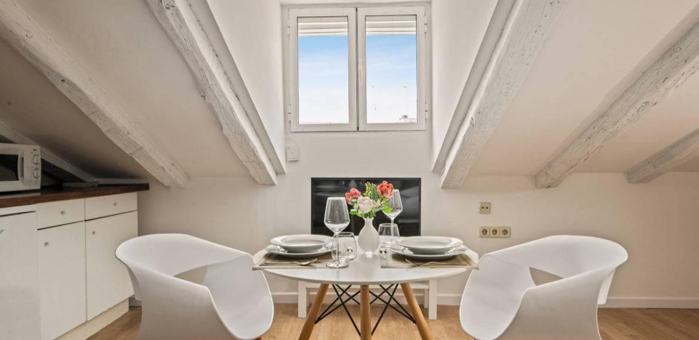 2. Loft – Living room