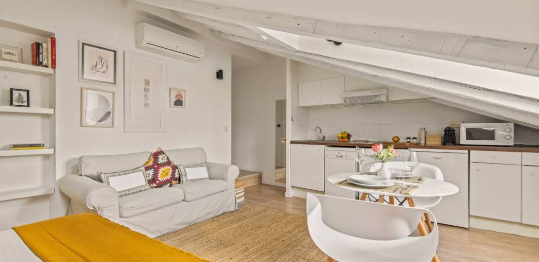 3. Loft – Living room