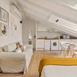 4. Loft – Living room