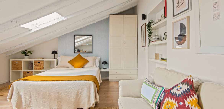 9. Loft – Bedroom