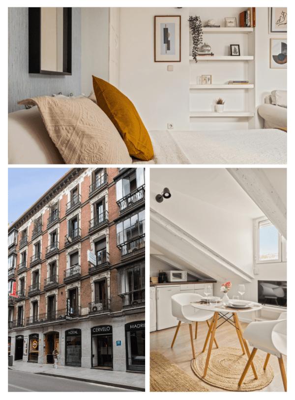 apartamentos corporativos collage de fotos