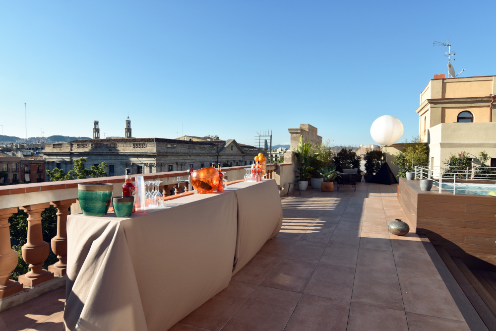 apartamentos corporativos vista de barcelona